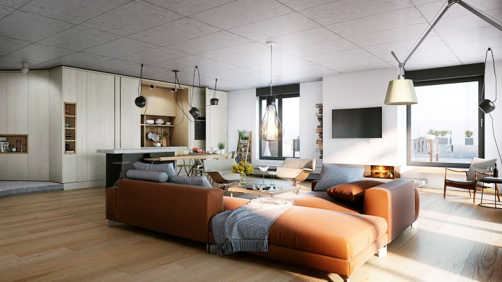 Glavni adut modernog enterijera – beton