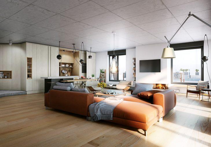 BETON - für die Innenausstattung der Wohnungen