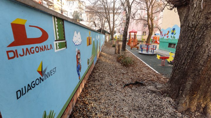 For happy childhood -Dijagoninvest donates playground to children of Novi Sad