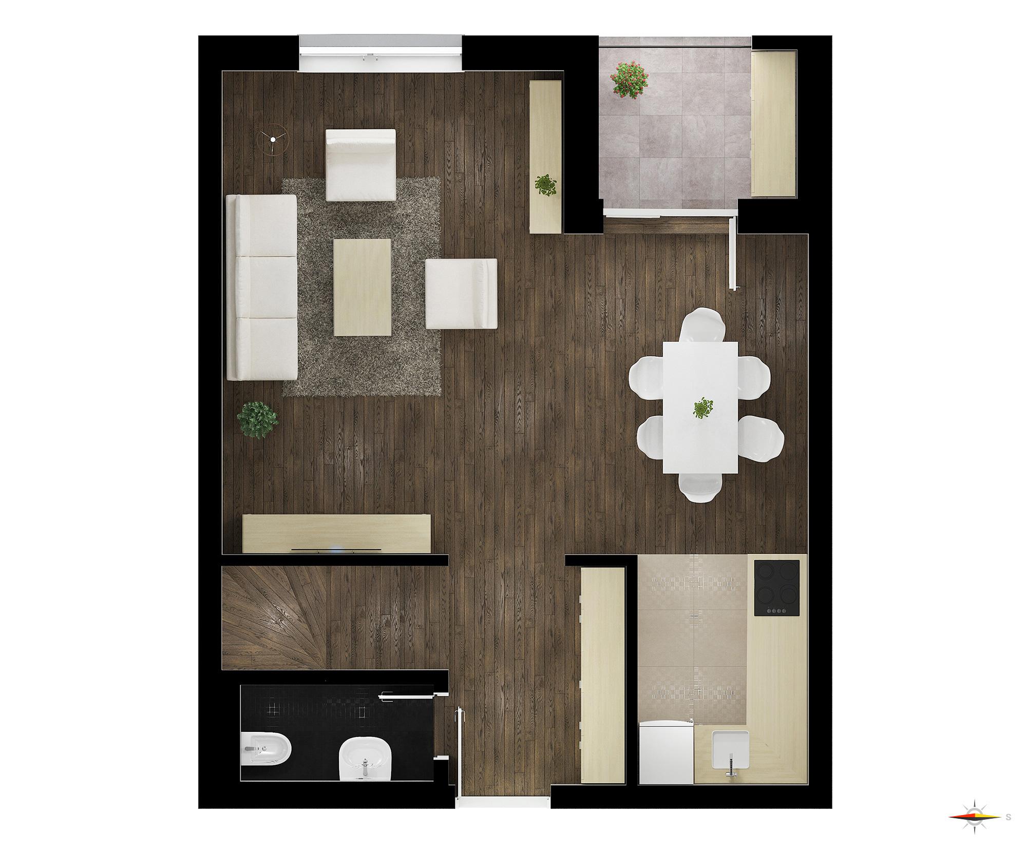 Četvorosoban stan (Dupleks) / TIP 3