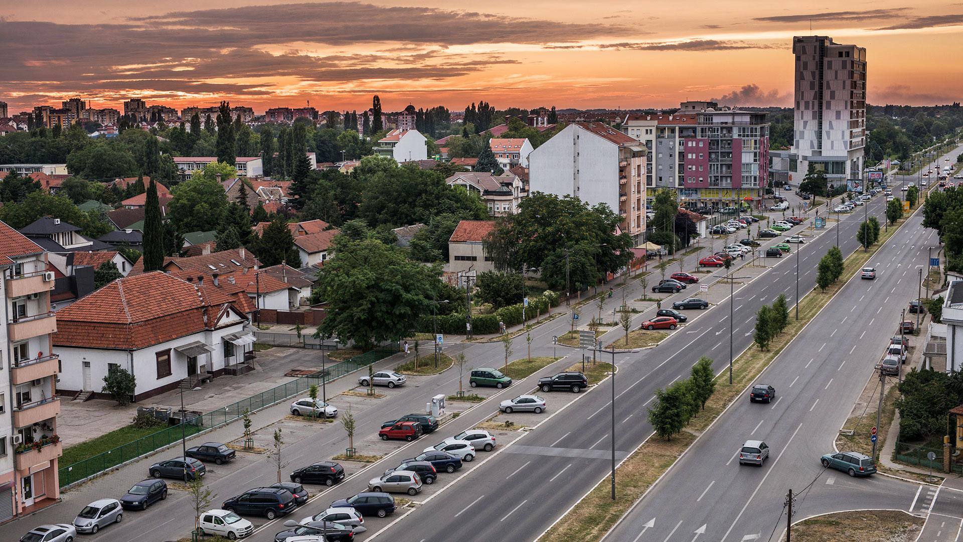 Bulevar Evrope and Laze Nančića Street