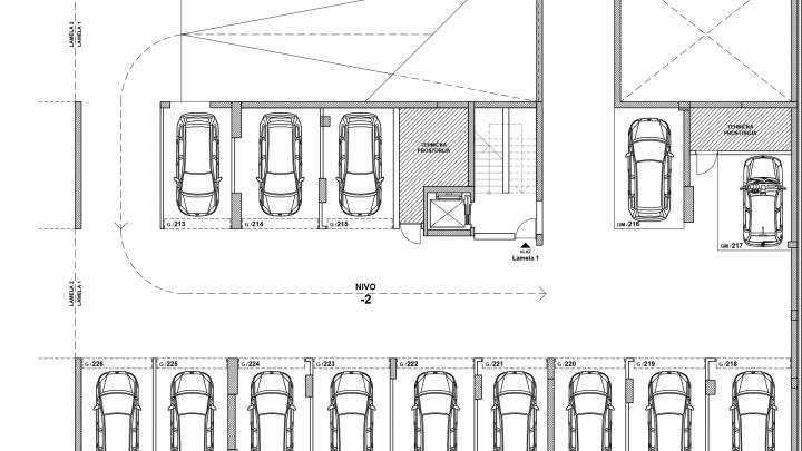Garaža Nivo -2