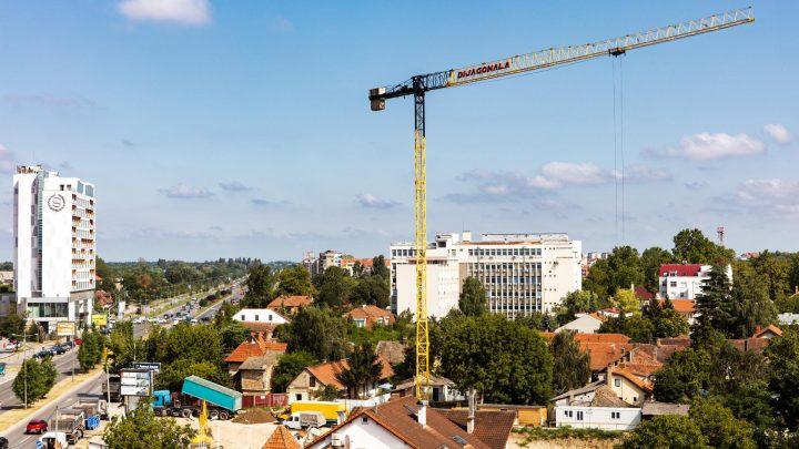 Počeli pripremni radovi na novom objektu, ugao Bulevara Evrope i Laze Nančića
